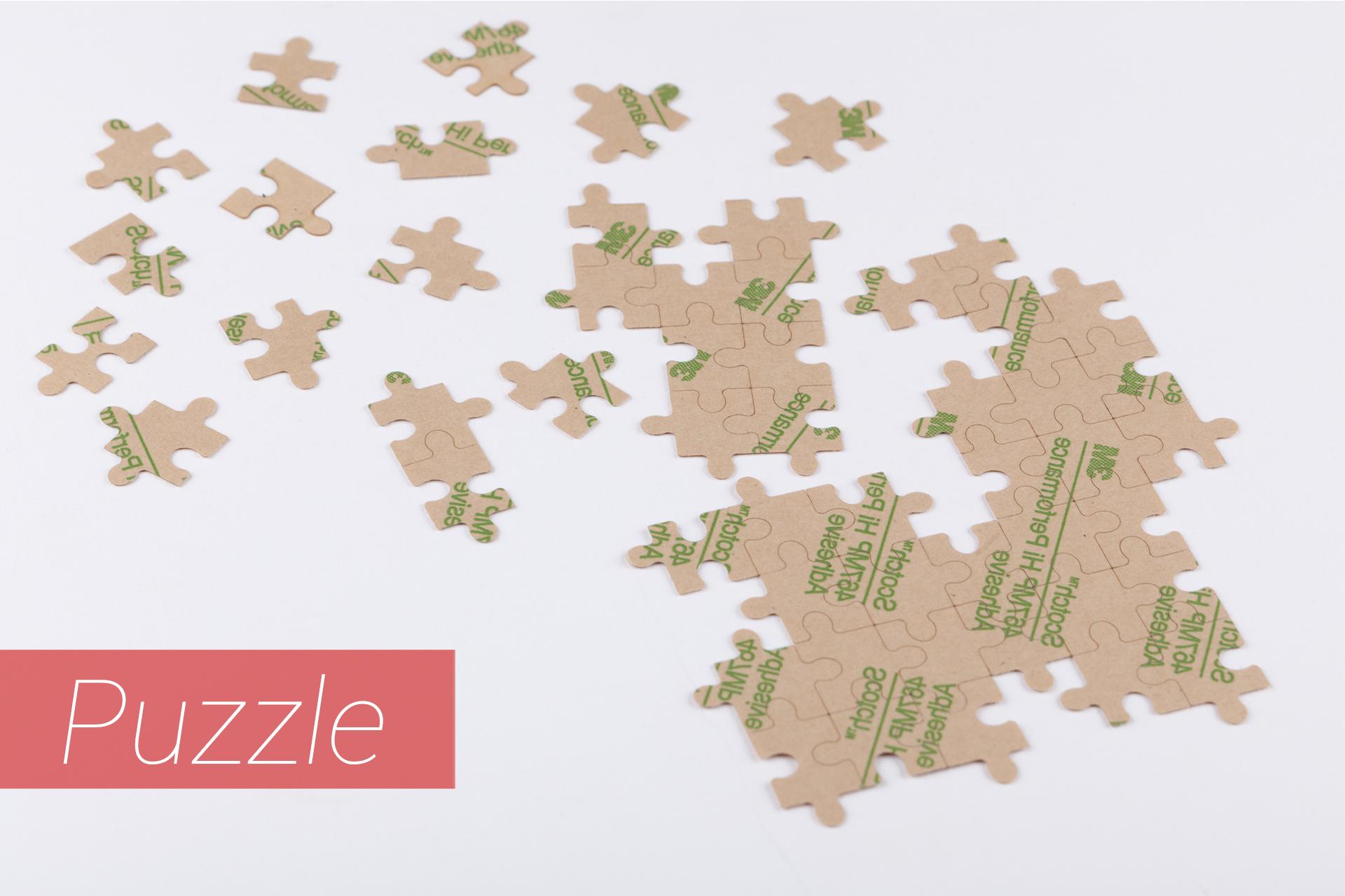Puzzle lasergestanzt